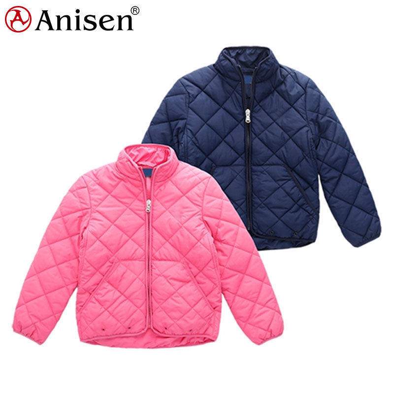 wholesale custom logo winter children outdoor kids padded quilted jacket