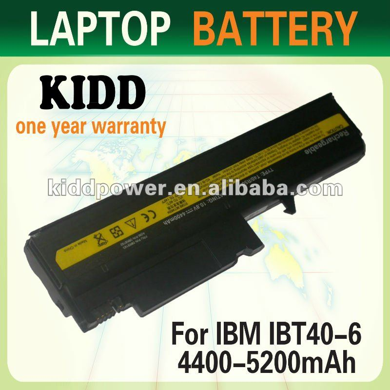 Repalce Laptop IBM/Lenovo ThinkPad R50 T40 Battery