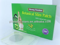 300pcs-new natural super slim pomegranate patch weight loss 2011