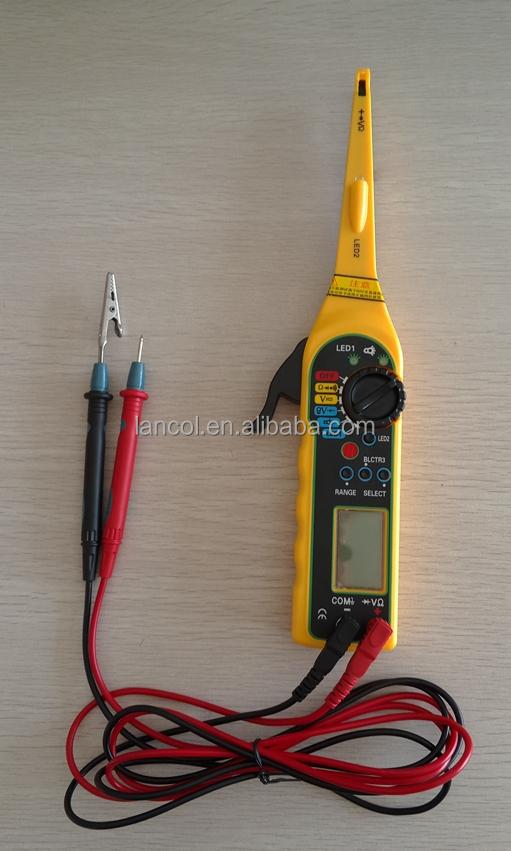 auto circuit tester auto circuit detector update multimeter buy auto circuit tester auto. Black Bedroom Furniture Sets. Home Design Ideas