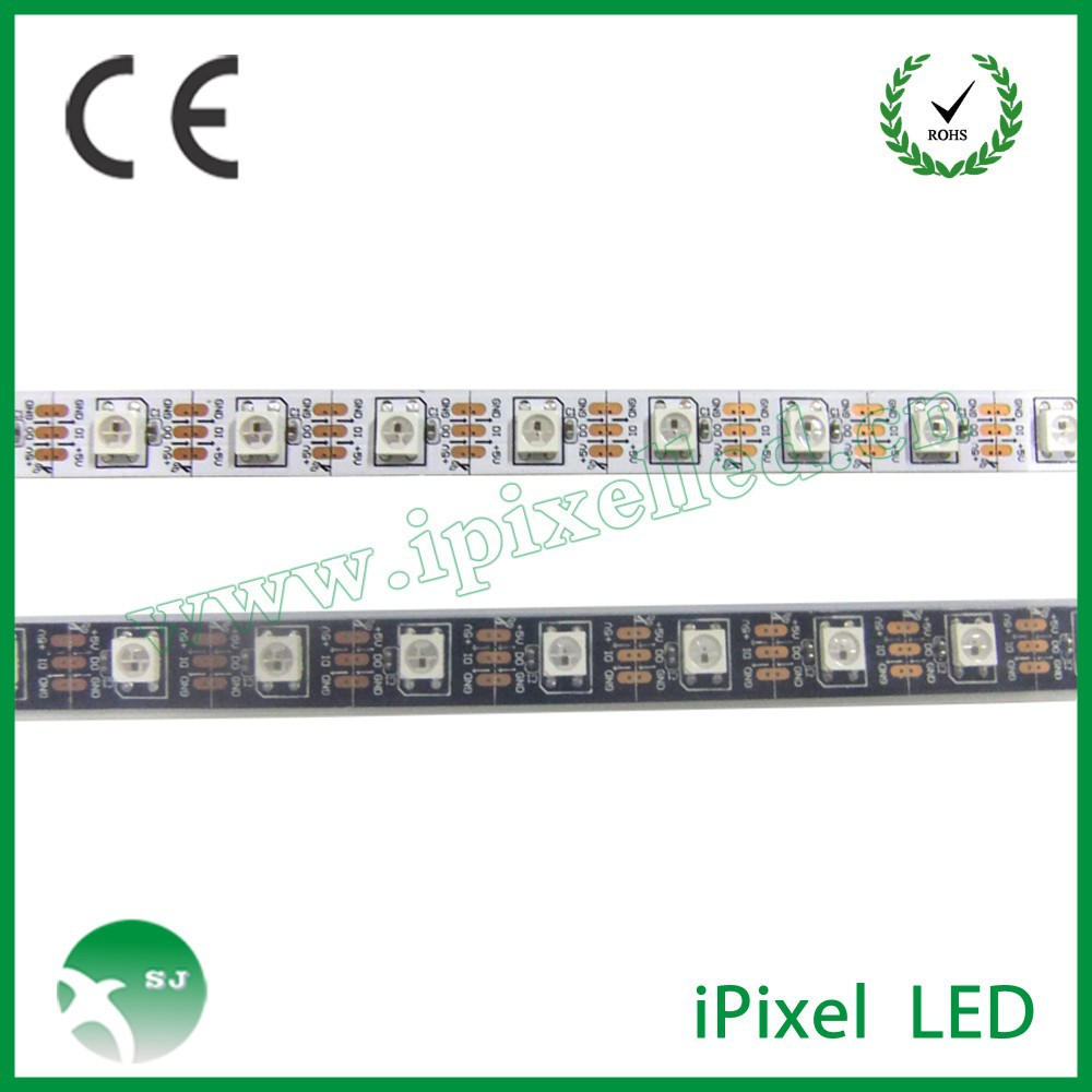 Hot Selling DC5V 60pcs per meter WS2812B IP65 waterproof SMD 5050 changeable color Cheap flexible rgb rigid led light bar