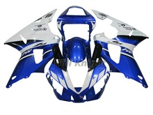 Blue YZFR1 2000 2001 ABS Fairing Set for Yamaha fairings YZF1000 2000 2001 R1 YZF R1 00 01 YZF1000 ABS Plastic Kit