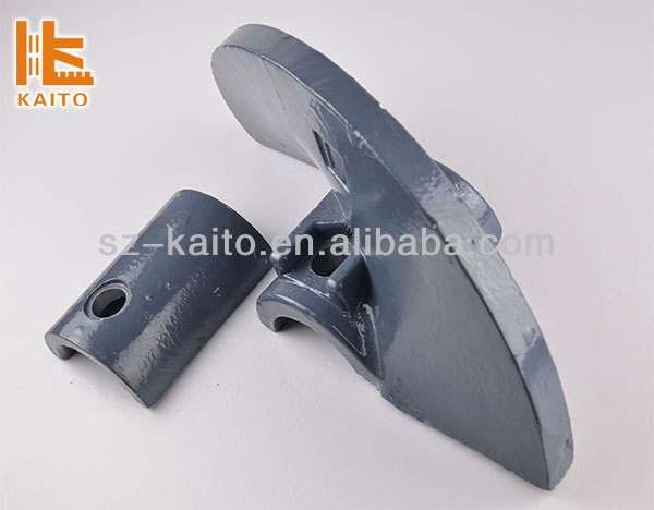 Asphalt Paving Equipment Spare Parts Helical Auger Blade Pump Parts