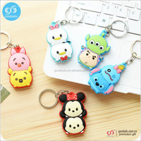 china suppliers custom keychain 3D soft pvc key chain