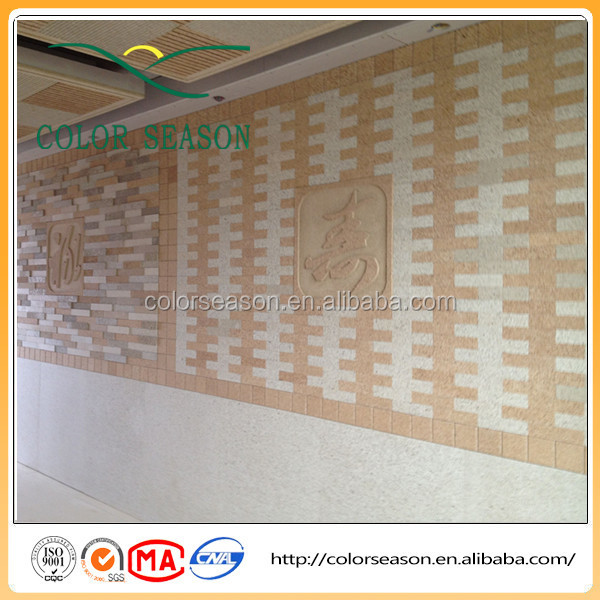 Excellent quality graven vermiculite boards for wall decorative