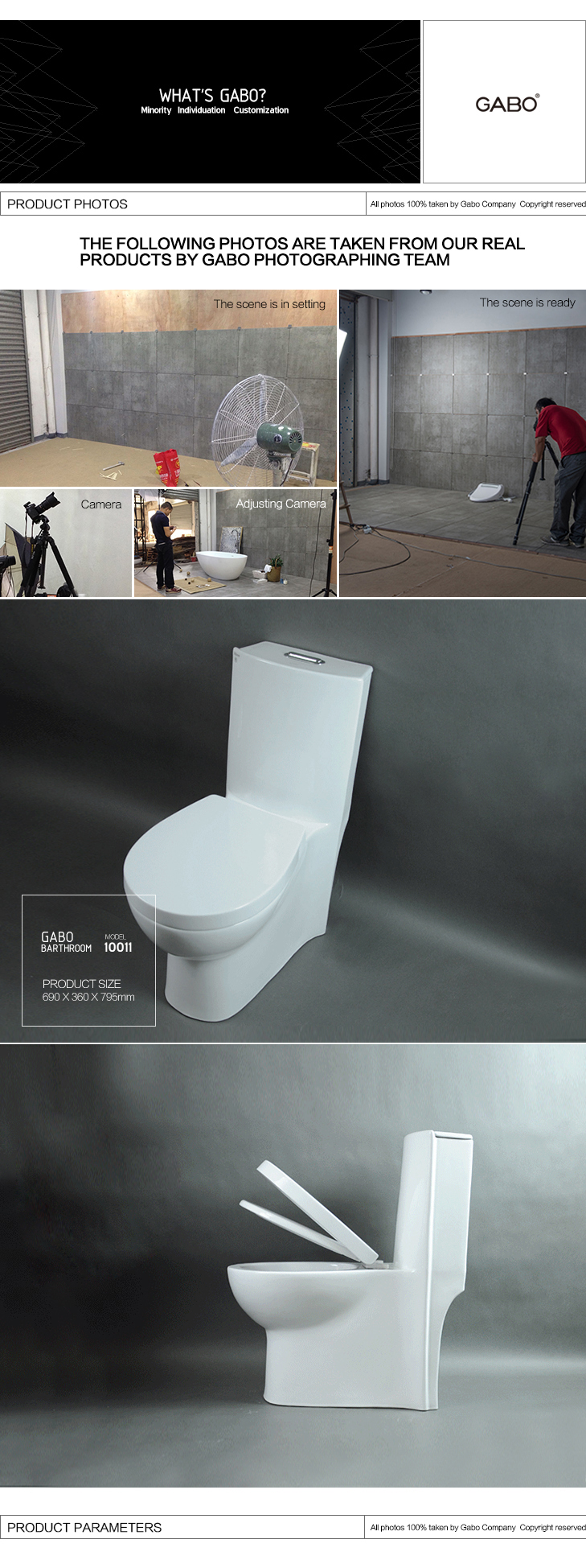 Factory Price Western Style WC, Toilet With Flush Valve