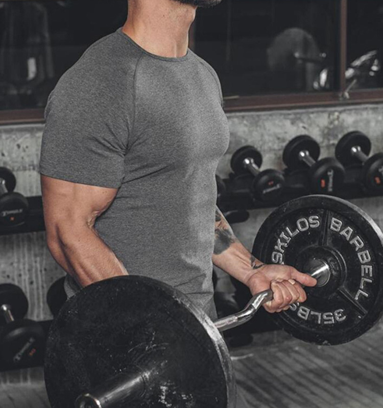 Wholesale Custom Brand Fitness Bodybuilding Clothes New Style High Quality O Neck Muscle Gym T Shirts For Men
