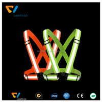 china supplier clothing wholesale custom elastic reflex vest for industrial safety