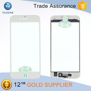 New Replacement Parts for iPhone 7 White Front Lcd Glass Lens with Frame and OCA