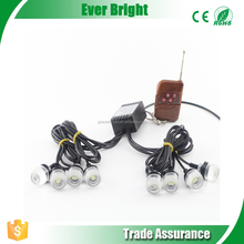 DRL LED 12V 8 In 1 Led Car Driving Light Strobe Flashing External Lights