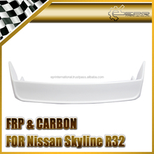 EPR-Wholesale Retail With Carbon Fiber FRP Fiber Glass For Nissan Skyline R32 GTR OEM Rear Spoiler