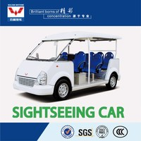 hot sell unique design 8 seater 72V electric tourist car