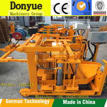 QT40-3A hydraulic interlock cement hollow block making machine in South Africa