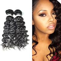 Black Color 100 Human Hair Extension Wholesale, Indian Human Hair Extension