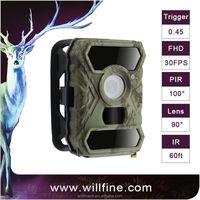 12MP Digital scout guard waterproof trial night vision hunting camera Infrared hunting video camera for hunting