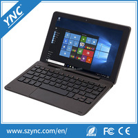 Tablet Computer With Keyboard Case Quad