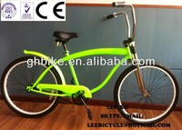 "26"" mens CE CP fork chopper fork beach cruiser/men beach cruiser bicycle"