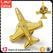 Hot Sale High Quality Factory Price Custom Airplane Lapel Pin Wholesale From China