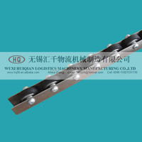 "W-45RS China rubber skate wheel conveyor for hot sale with Dia 1.771"" Width 0.472"""