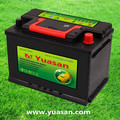 Yuasan High Performance 12V Lead Acid MF Batteries with Low Self-Discharge--57412-MF(12V74AH)