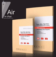 New manufacture price 9h milo tempered glass screen protector for iPad air