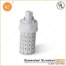 2015 wholesale Gx24q Gx24D 2 Pin 4 pin 1000lm 9W led GX24 lamp