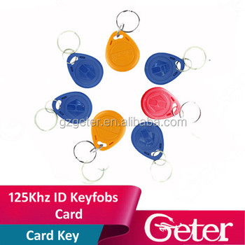 Best contactless RFID ABS keyfob/key tag/key chain