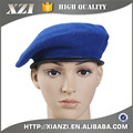 High quality 100% wool plain pattern army beret