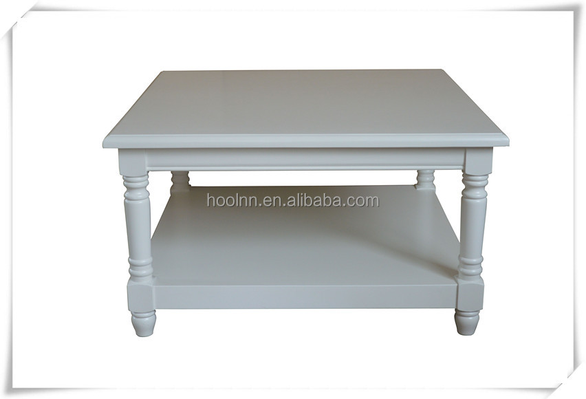 French White Wash Coffee Table For Living Room Hl913 90s View Coffee Table Hoolnn Product