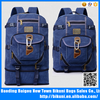 2015 Wholesale durable unisex two size canvas camping backpack