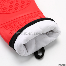 Wholesale Cotton Silicone Oven Mitts Microwave Gloves
