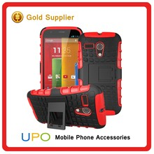 [UPO] New Arrival Hybrid Armor Kickstand Shockproof Phone Case for Motorola moto G with belt clip