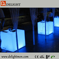 inflatable led cube/ led glowing chair/ led luxury plastic bench