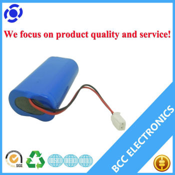 Shenzhen wholesale 7.4v 2300mAH 18650 battery pack