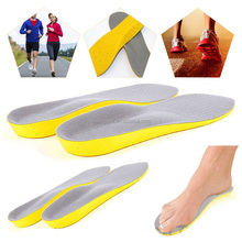 Orthopedic Trainer Foot Feet Comfort Heel Memory Foam Unisex Shoe Insoles HA00217