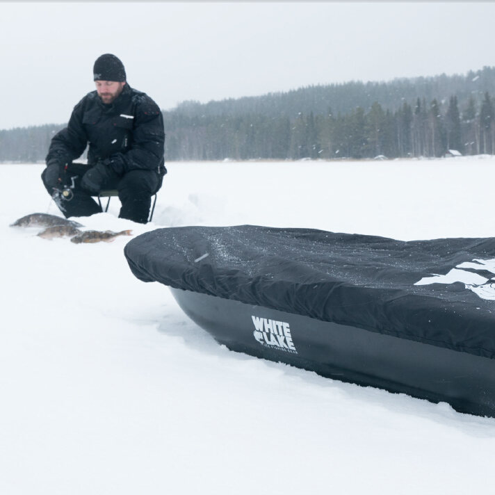 ice fishing high density nylon sled cover