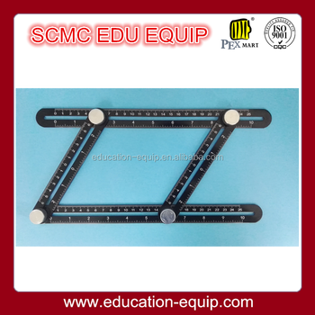 Aluminium Alloy Angleizer Template Tool, measuring tool for building material cutting, SE13420-1