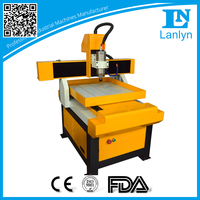 High Precision Ball Screw Desktop CNC Router Machine for Aluminum