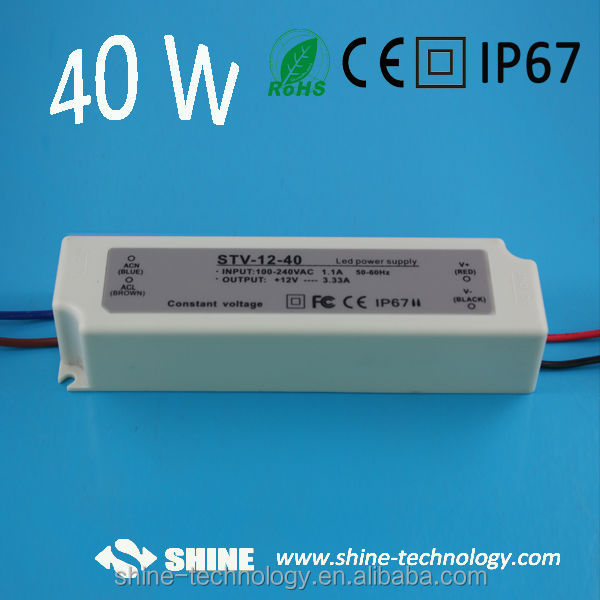 strobe power supply 40w 12v led power supply for led light led strip