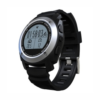 Barometer Thermometer Heart rate monitor Running Tracker GPS Sports Watch