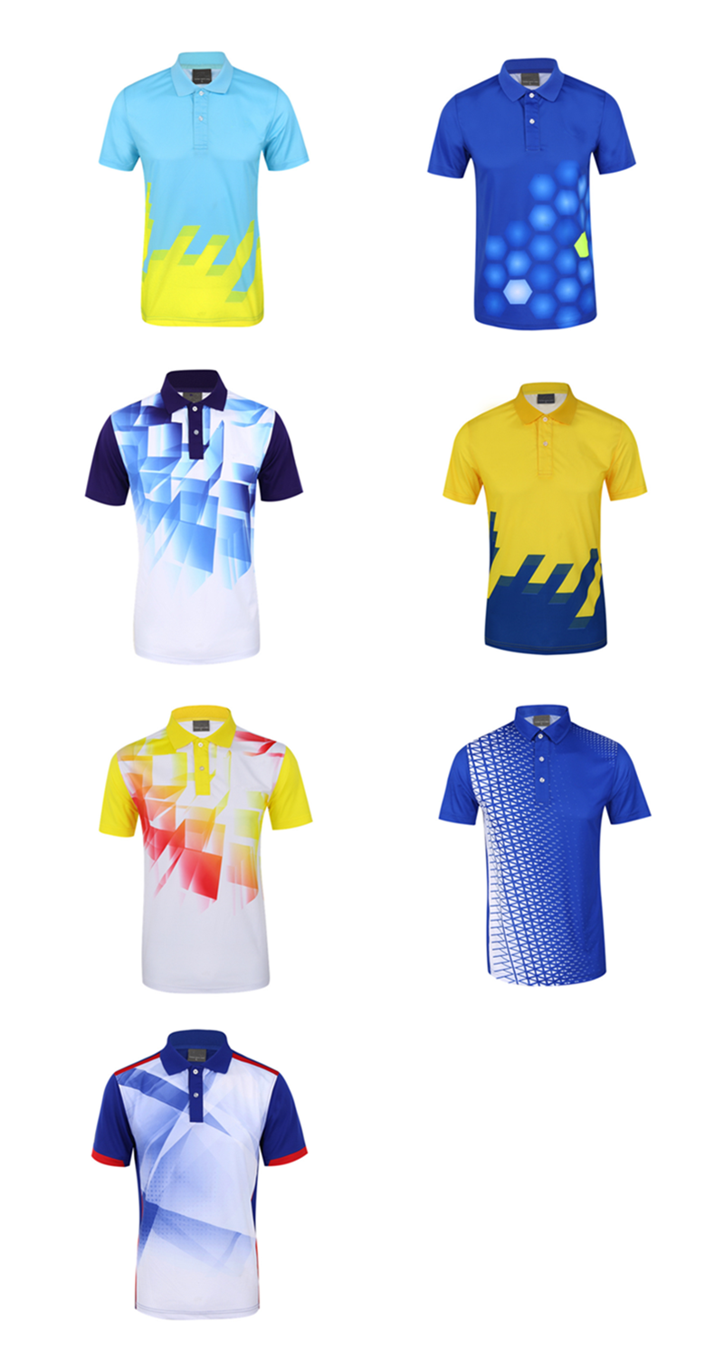 factory direct wholesale custom sublimation polo shirt mede in China
