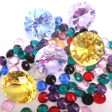 Wholesale wedding gifts item decorative small large colorfull crystal glass diamond stone