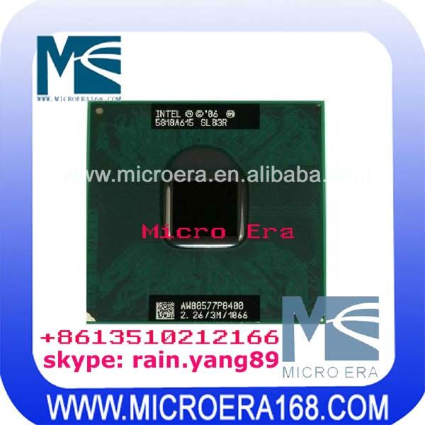 laptop cpu for intel dual-core T8100 T8300 P8400P8600P8700
