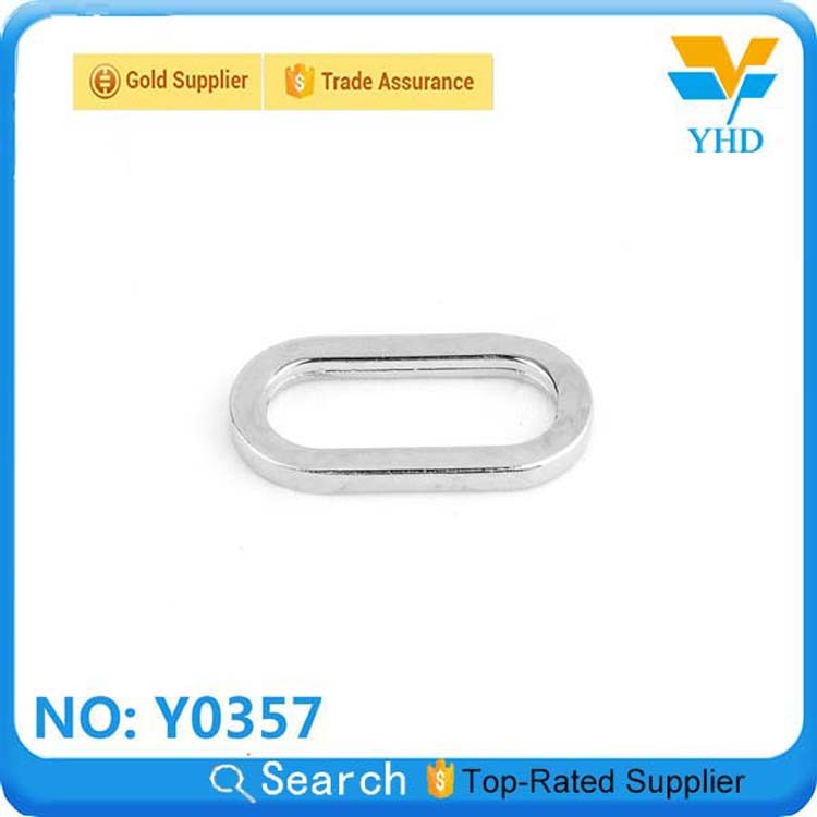 Fashion solid metal square rings for bag fitting& bag accessory