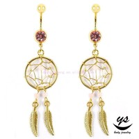 New Design Fashion Stainless Steel Navel Hanging Belly Button Rings Body Jewelry Belly Rings Gold