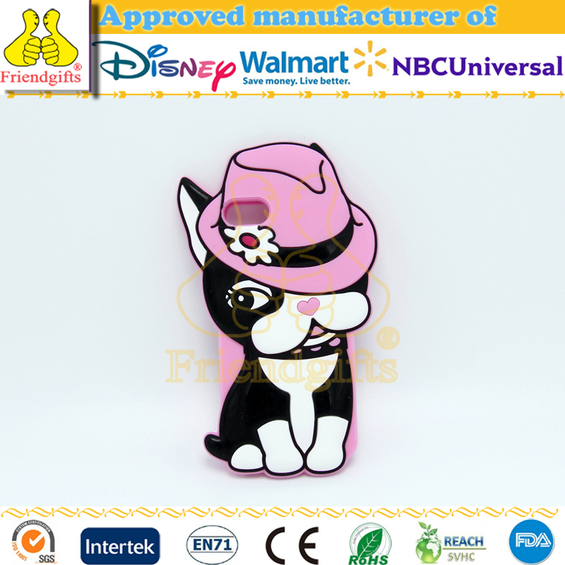 Unique silicone 3d animal sex girl mobile phone cases for iphone 6