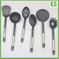 Kitchen tool cheap non stick plastic colorful kitchen utensils