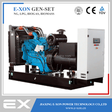 160kw Silent Low rpm Electric Gas Generator (NG, LPG, Biogas, Biomass)