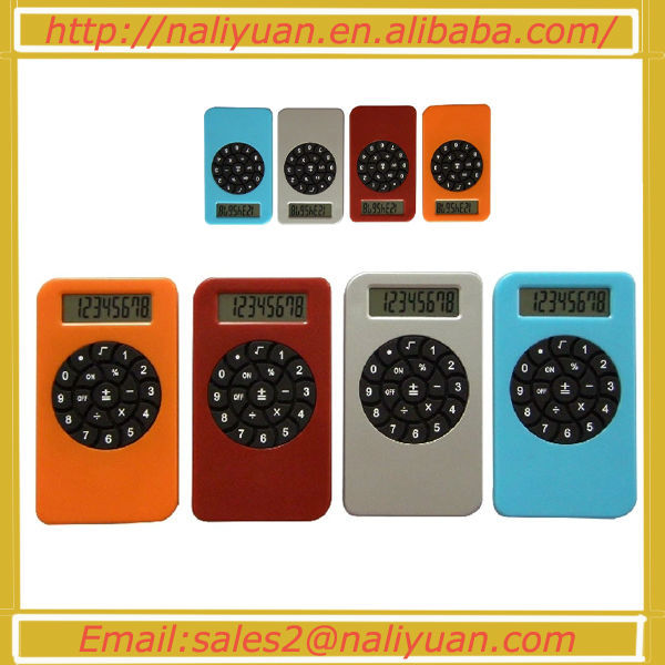 Hot sales cheapest pocket 8 digit dual power calculator for promotion