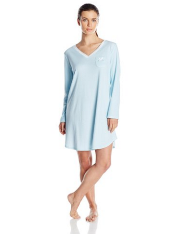 elegant solid deep v neck comfort nightgown plus size